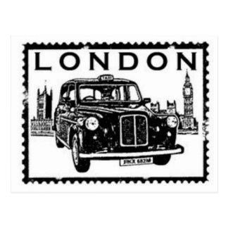 Taxi de Londres Postal