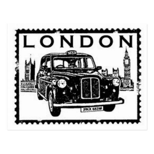Taxi de Londres Tarjetas Postales
