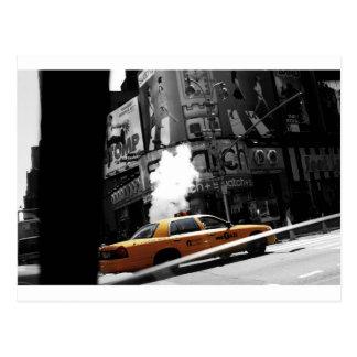 Taxi de Nueva York Postal