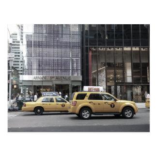 Taxi de NYC Postal