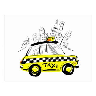 taxi del newyork postal