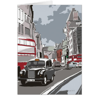 Taxi en Londres Tarjeton