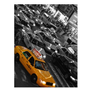 Taxi: Fondo de B&W Postal