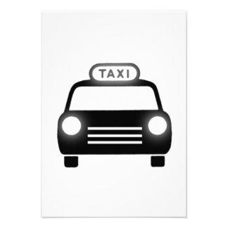 Taxi Invitacion Personalizada