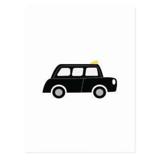 Taxi negro postal
