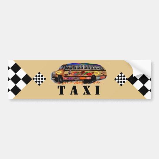 Taxi Pegatina Para Coche