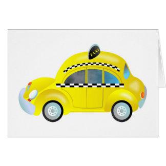 Taxi Tarjeta De Felicitación