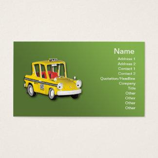 Taxi Tarjeta De Negocios