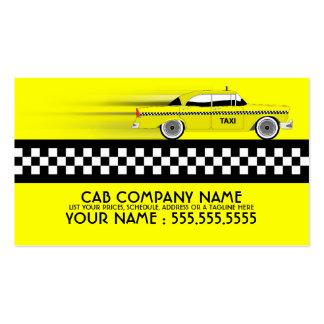 taxi tarjetas de visita