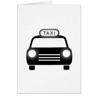 Taxi Tarjeta Pequeña