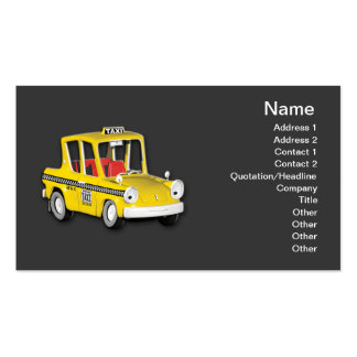 Taxi Tarjeta De Negocio