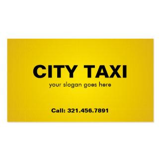 Taxi - tarjetas de visita