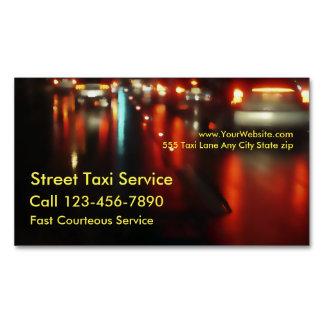 Taxi Tarjetas De Visita Magnéticas (paquete De 25)