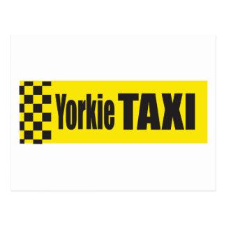 Taxi Yorkie Postal