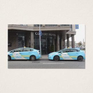Taxis en Vilna Lituania Tarjeta De Negocios