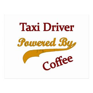 Taxista accionado por el café postal