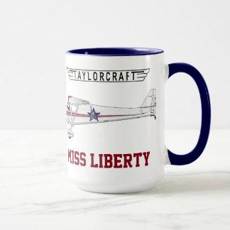 Taylorcraft - Srta. Liberty Taza