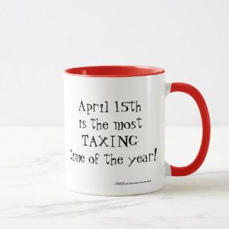 Taza ¡15 de abril - la mayoría del Tme que grava del