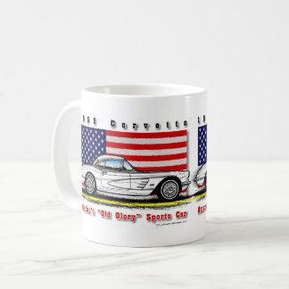 Taza 1959 de café del Corvette