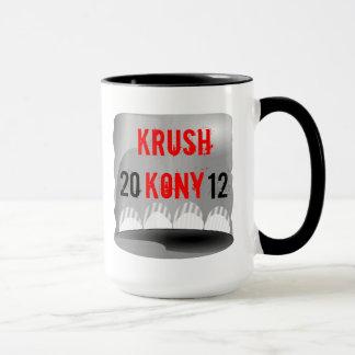 Taza 2012 de la taza del té del café de Krush Kony