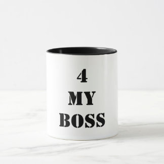 Taza 4 mi Boss