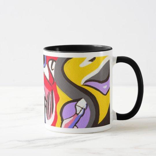 Taza abstracta del diseño