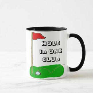 Taza Agujero del golf en un personalizado del club