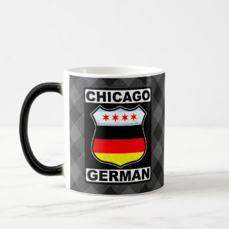 Taza americana alemana de Chicago