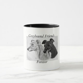 Taza Amigos del galgo para siempre