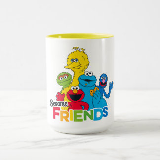 Taza Amigos del sésamo del Sesame Street el |