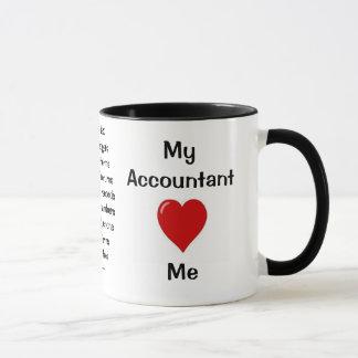 Taza Amo a mi contable - razones groseras por las que