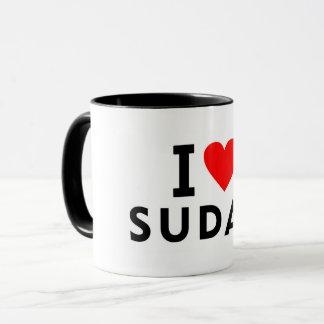 Taza Amo el país de Sudán como el turismo del viaje del
