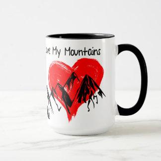 Taza ¡Amo mis montañas!
