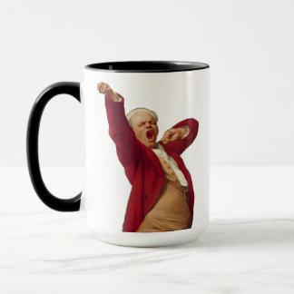 Taza Antes de bostezo del café
