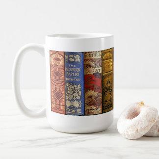 Taza anticuaria del libro