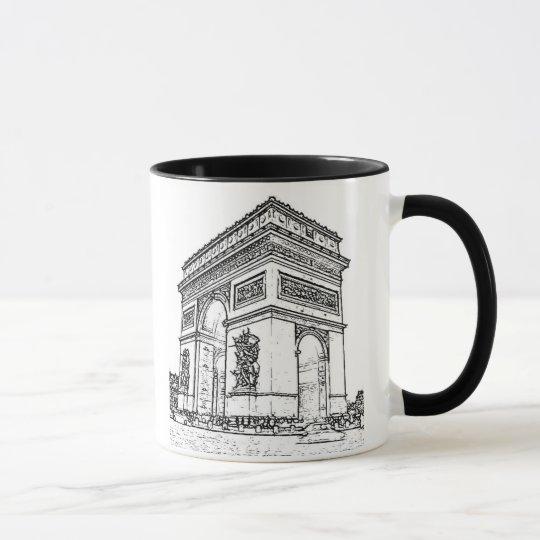 Taza ~ Arco del Triunfo de París