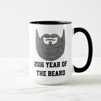 Taza Arte 2016 de la barba