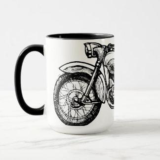 Taza Arte clásico de la motocicleta