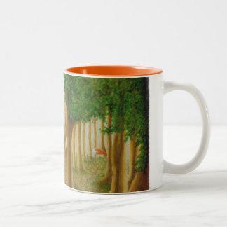 Taza astuta del bosque