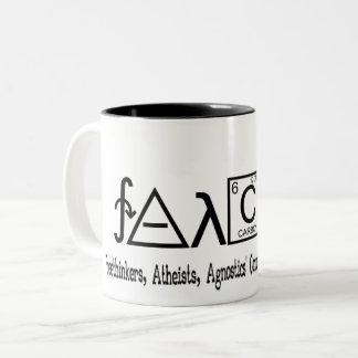 Taza atea del coffe del grupo de FAACT
