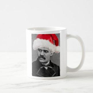 Taza atea del navidad de Nietzsche