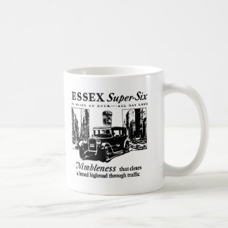 Taza auto Estupenda-Seis 1927 del anuncio de Essex