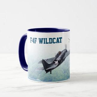 "Taza Aviation Art Mug ""F4F Wildcat"""