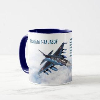 "Taza Aviation Art Mug ""Mitsubishi F-2"""