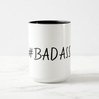 TAZA BADASS MUG_# DIVERTIDO BADASS