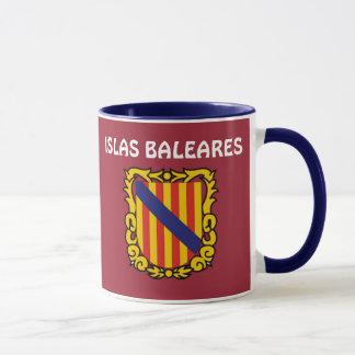 Taza Balearic Island * Islas Baleares