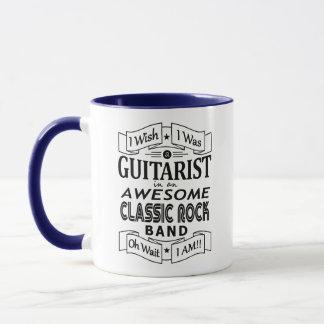 Taza Banda de rock clásica impresionante del
