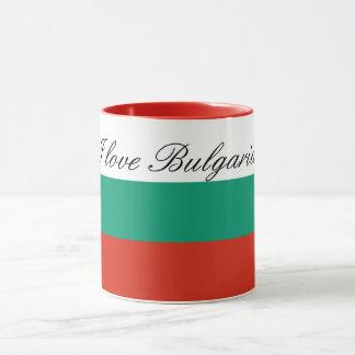 Taza Bandera de Bulgaria o del búlgaro