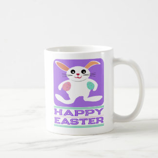 Taza básica feliz festiva de Pascua