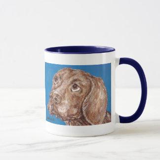 Taza Beagle triste